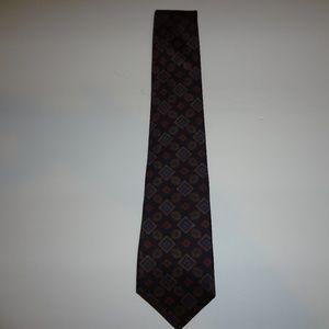 1980s Harve Benard 100% silk tie